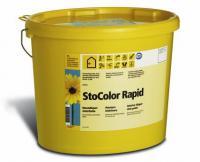 Высокоукрывистая дисперсионная краска для стен и потолков StoColor Rapid 5 л
